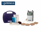 LGMedSupply Digital Electronic Muscle Stimulator Unit and Ultrasound Complete Kit