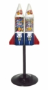 LYPC Mighty Mite Rocket Double w/ Heavyweight Stand