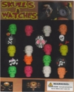 "Skulls & Watches 1"" Toy Capsules 250pcs"