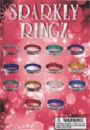 """Sparkle Rings 1"""" Toy Capsules 250pcs"""