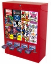 USA Sticker Machine 4 Column Cabinet