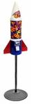 LYPC Mighty Mite Rocket Gumball Machine with Stand
