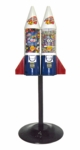 LYPC Mighty Mite Rocket Double w/ Husky Stand