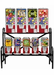 9 Machine Capsule/Candy Combo Rack