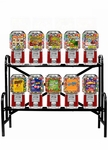 10 Classic Gumball Candy  Rack