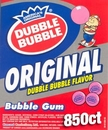 Dubble Bubble Original Pink Gumballs 850ct
