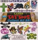 "Lazer Tattoos 1"" Toy Capsules 250pcs"