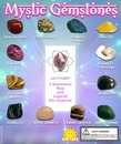 "Mystic Gemstones 1"" Toy Capsules 250pcs"