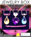 "Jewerly Box 1"" Toy Capsules 250pcs"