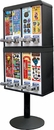 8 Column Stack Sticker Vending Machine