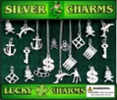 "Silver Charms 2"" Toy Capsules 250pcs"