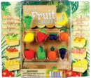 "Fresh Fruit Erasers 2"" Toy Capsules 250pcs"