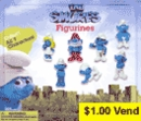 "Smurfs Figurines 2"" Toy Capsules 250pcs"