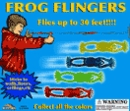 "Frog Flingers 2"" Toy Capsules 250pcs"