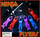 "Ninja Flyers 2"" Toy Capsules 250pcs"