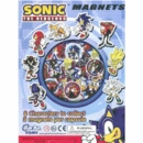 "2"" Sonic Magnets Tomy Gacha Toy Capsules 250pcs"