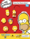 "2"" Simpsons Funny Face Charms Tomy Capsules 200 pcs"