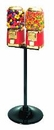 LYPC Classic Double Gumball & Candy Machine Free Shipping