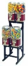 4-Unit LYPC Classic Candy Gumball  Machine Rack Combo