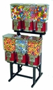 6-Unit LYPC Pro Line Vending Machines Rack Combo