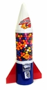 LYPC Mighty Mite Rocket Gumball Machine