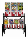 7 Machine Capsule/Candy Combo Rack