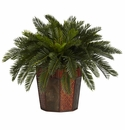 "22"" Artificial Cycas Plant with Octagon Vase"