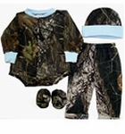 Camo Mossy Oak Infant 4pc Set