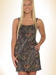Mossy Oak Camo Lingerie Tank Night Gown or Loungewear