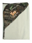 Mossy Oak Camo Thermal Camouflage Embroidered Infant Blanket