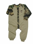 Infant Boys Camo/Tan Sleeper