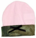 Pink Mossy Oak Camo Trimmed Jersey Hat - Infant