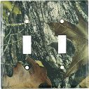 Mossy Oak Camouflage Light Switch Cover - Single, Double