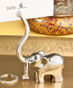 Majestic elephant placecard/photo/jewelry holder favors