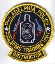 Phila. Firearms Training Instructor Patch