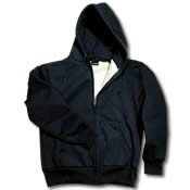 CAMBER Insulated Artic thermo Zip Hoodie#131 -COMES IN BLACK, GREY, ORANGE OR SAFETY GREEN - TALL SIZES AVAILABLE
