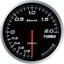 DEFI DF09901 60mm Turbo 200KPA White Defi Advance BF Gauge