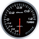 DEFI DF10001 60mm Turbo 120KPA White Defi Advance BF Gauge