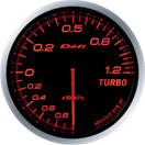DEFI DF10002 60mm Turbo 120KPA Amber Defi Advance BF Gauge