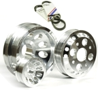 Unorthodox Underdrive Pulley Kit(3 pc) w/belts - 03-06 Nissan 350z