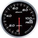 DEFI DF10201 60mm Oil Pressure White Defi Advance BF Gauge