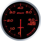 DEFI DF10302 60MM Fuel Pressure Amber Defi Advance BF Gauge