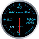 DEFI DF10303 60MM Fuel Pressure Blue Defi Advance BF Gauge
