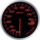 DEFI DF10402 60MM Oil Temp Amber Defi Advance BF Gauge