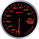 DEFI DF10502 60MM Water Temp Amber Defi Advance BF Gauge