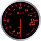 DEFI DF10602 60MM EGT Amber Defi Advance BF Gauge