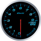 DEFI DF10703 60MM Tach 9000RPM Blue Defi Advance BF Gauge