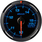 Defi 52mm Blue Racer Voltage Gauge