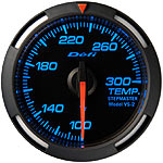 Defi 52mm Blue Racer Temperature Gauge
