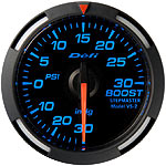 Defi 52mm Blue Racer Boost Gauge